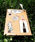 cardboard - swoosh